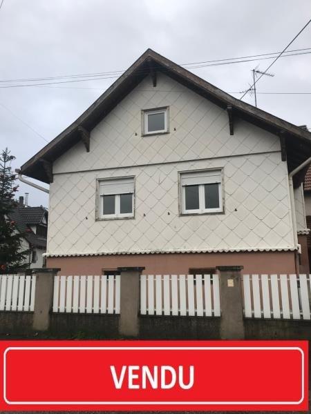 Vente maison / villa Soufflenheim 186700€ - Photo 1