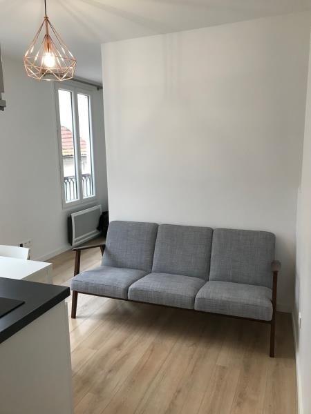 Rental apartment Paris 17ème 1100€ CC - Picture 1