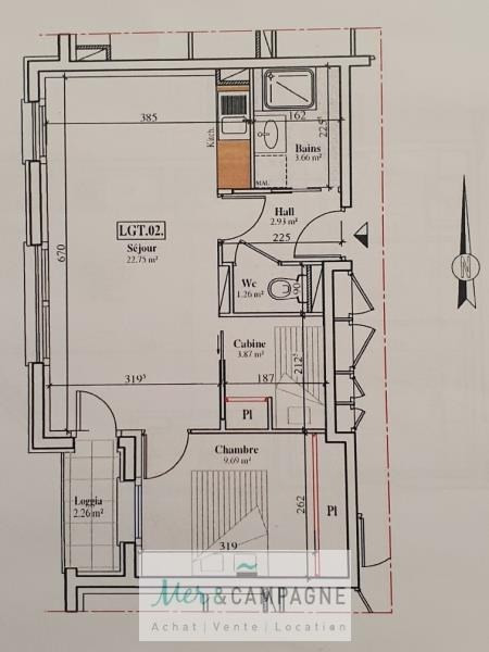 Sale apartment Quend 138000€ - Picture 2