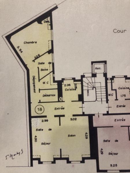 Vente appartement Paris 15ème 770000€ - Photo 3