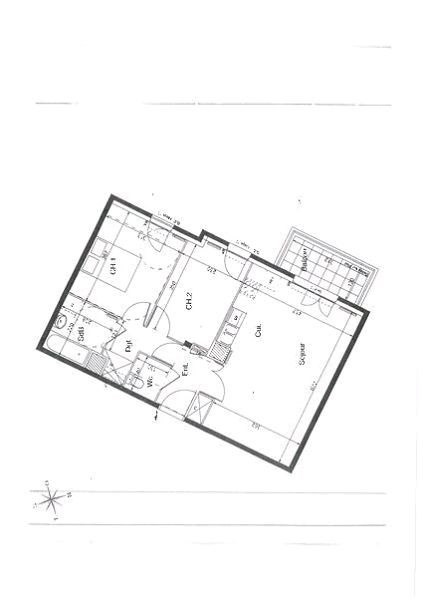 Investment property apartment Crosne 198 000€ - Picture 3