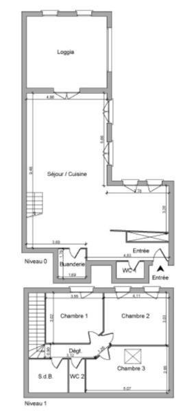 Location appartement Saint jean le vieux 713,42€ CC - Photo 2