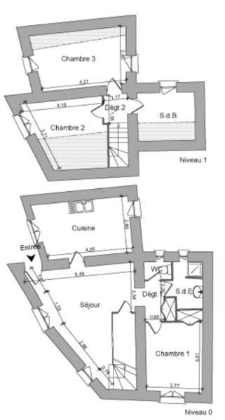 Location maison / villa Lucenay 799€ CC - Photo 9