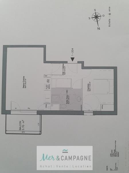 Vente appartement Fort mahon plage 190000€ - Photo 2