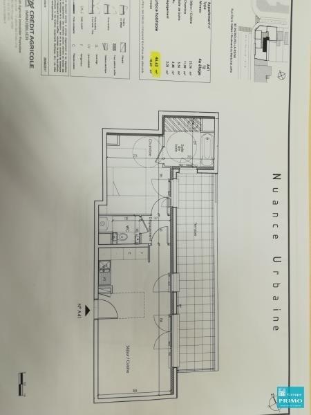 Vente appartement Bourg la reine 353000€ - Photo 4