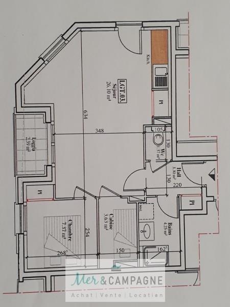 Sale apartment Quend 142500€ - Picture 3