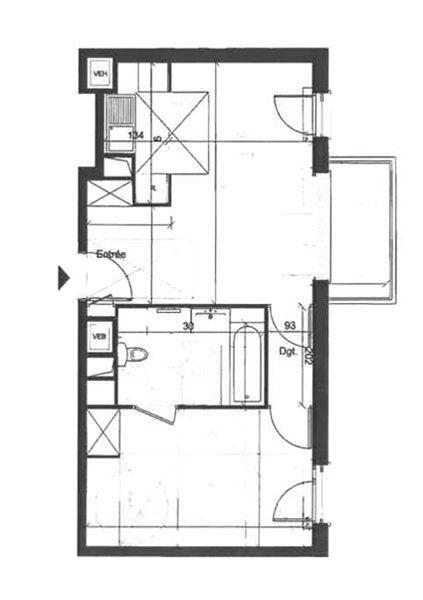Rental apartment Juvisy sur orge 703€ CC - Picture 3