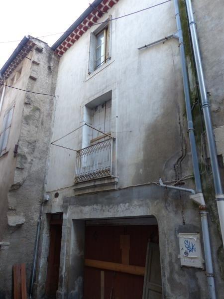 Vente maison / villa Beziers 60000€ - Photo 1
