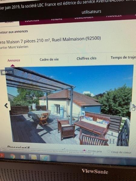 Deluxe sale house / villa Rueil malmaison 1287500€ - Picture 2