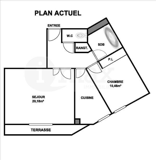 Sale apartment Levallois perret 475000€ - Picture 5