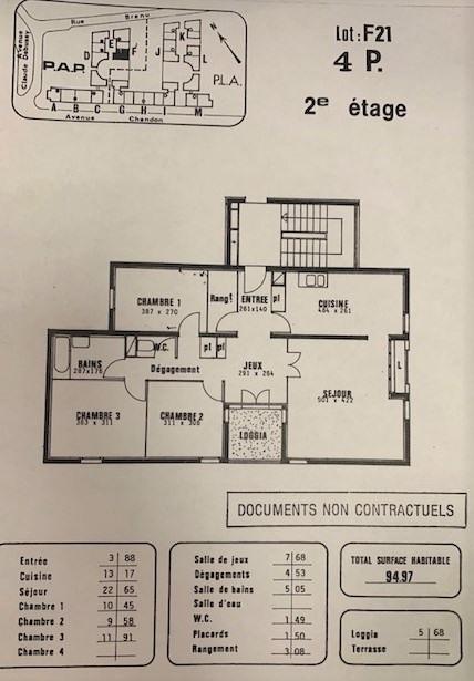 Sale apartment Gennevilliers 260000€ - Picture 3