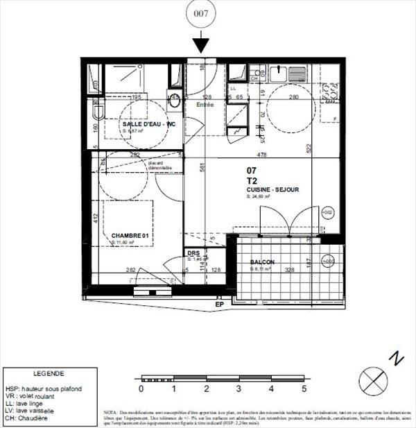 Sale apartment Biarritz 277000€ - Picture 2