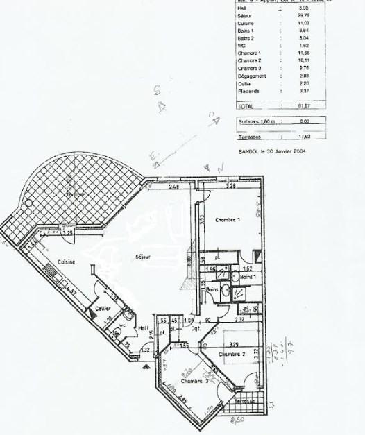 Vente de prestige appartement Bandol 672000€ - Photo 9