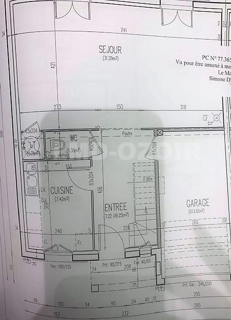Vente maison / villa Le plessis-feu-aussoux 241500€ - Photo 2