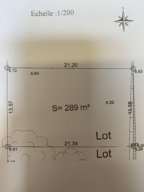 Vente terrain Jard sur mer 87000€ - Photo 1