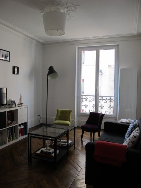 Rental apartment Paris 17ème 1 039€ CC - Picture 1