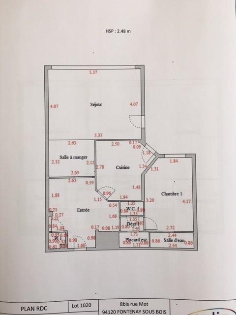 Vente appartement Nanterre 598500€ - Photo 28