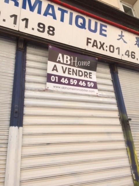 Venta  local Paris 11ème 617000€ - Fotografía 1