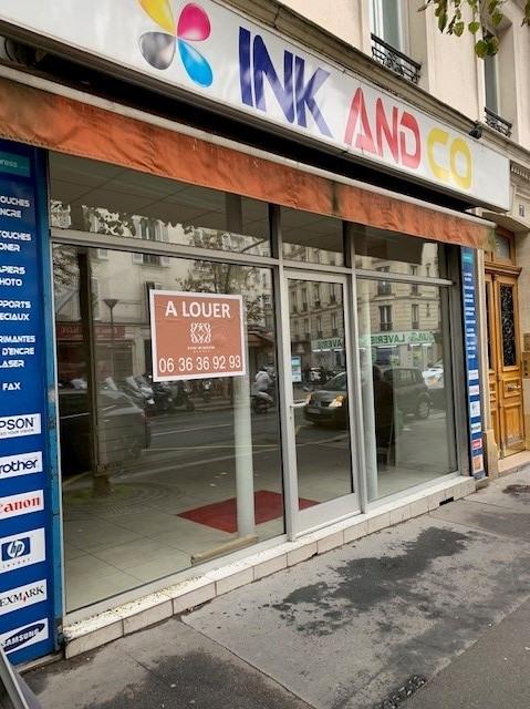 Location boutique Paris 17ème 1500€ HT/HC - Photo 1