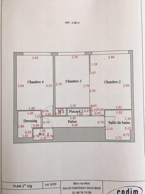 Vente appartement Nanterre 598500€ - Photo 29