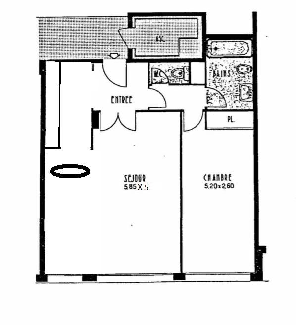 Sale apartment Boulogne-billancourt 523000€ - Picture 1