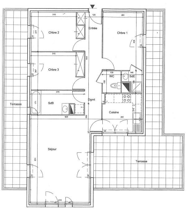 Vente appartement Les ulis 279000€ - Photo 9