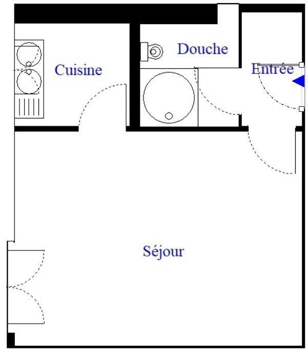 Sale apartment Paris 19ème 150000€ - Picture 4