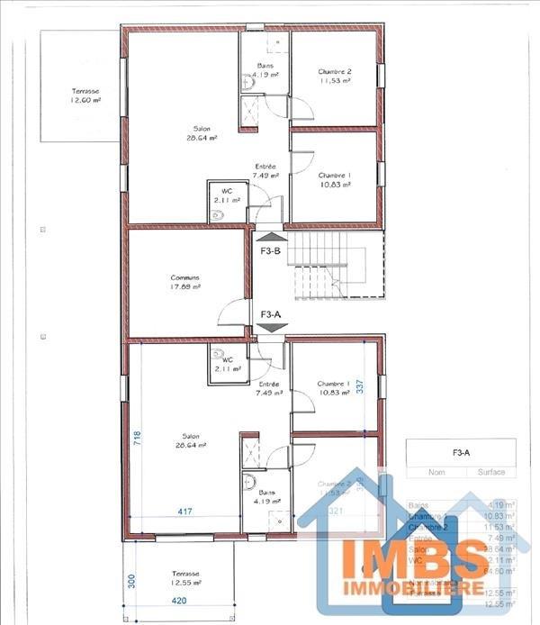 Venta  apartamento Attenschwiller 239560€ - Fotografía 3