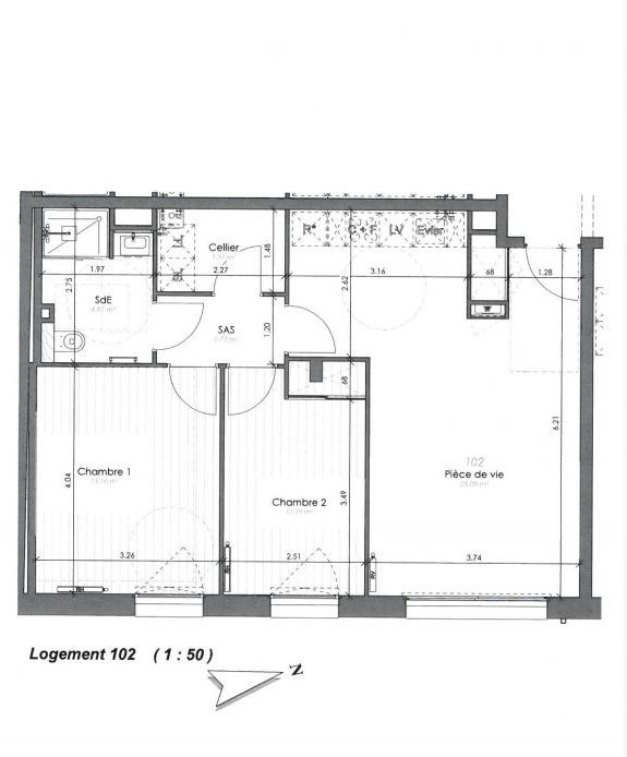 Vente appartement Saint gilles croix de vie 210000€ - Photo 1