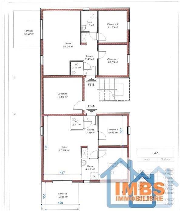 Venta  apartamento Attenschwiller 298970€ - Fotografía 4