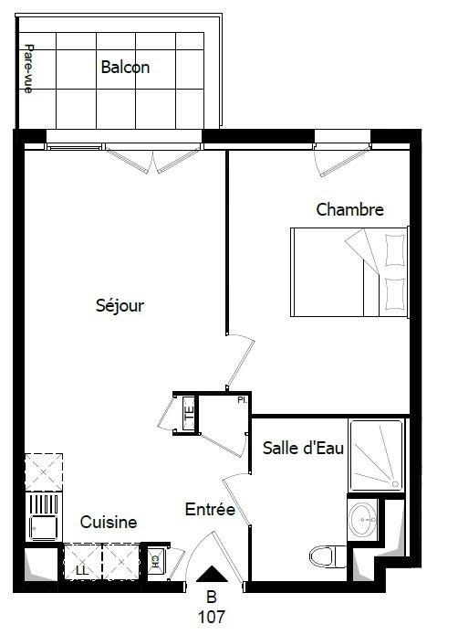 Vente appartement Challans 131000€ - Photo 2