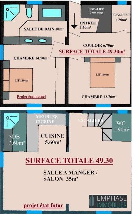 Venta  apartamento Triel-sur-seine 345000€ - Fotografía 3