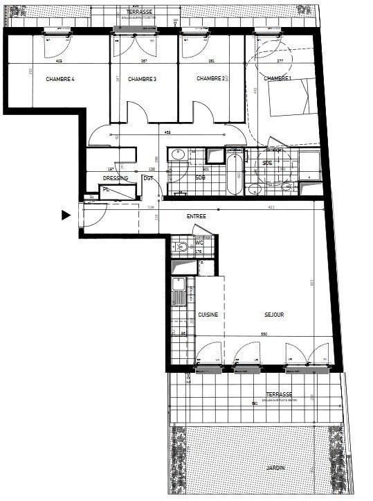 Vente maison / villa Argenteuil 382438€ - Photo 1