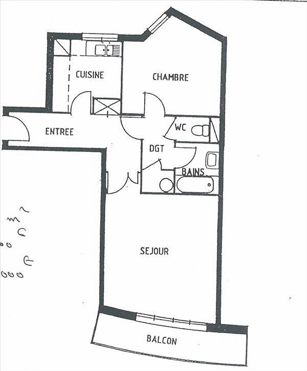Appartement Paris 12 - 2 pièce (s) - 56 m²