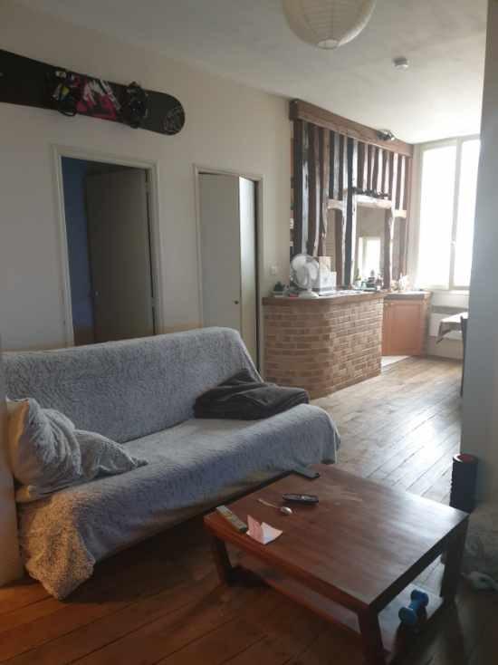 Limoges T2 de 38 m² hyper centre ville