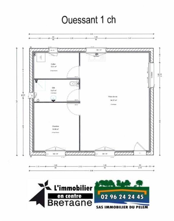 Sale house / villa Saint nicolas du pelem 80500€ - Picture 3
