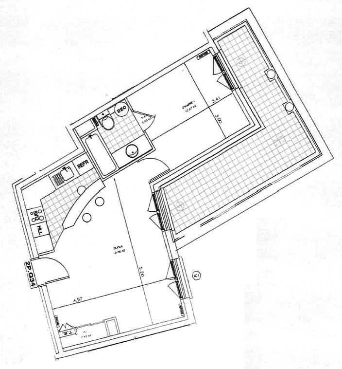 Sale apartment Le plessis-robinson 289000€ - Picture 2