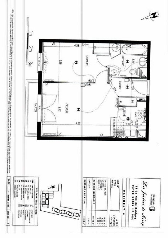 Location appartement Noisy le sec 820€ CC - Photo 4
