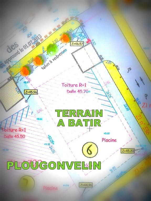 Vente terrain Plougonvelin 91500€ - Photo 4