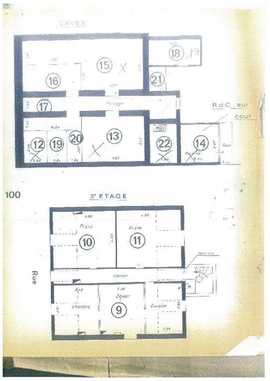 Plateau de 3 appartements idéal pour investisseur