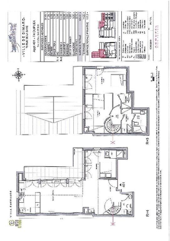 Vente de prestige appartement Dinard 590000€ - Photo 3