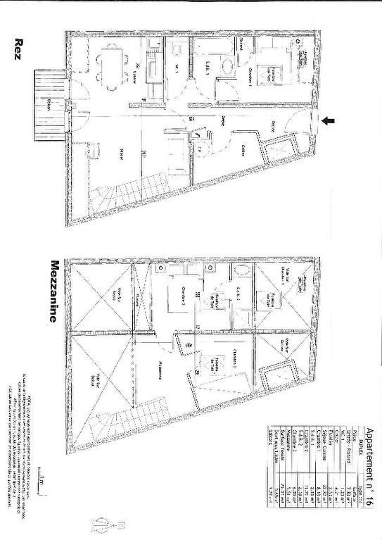 Prodotto dell' investimento appartamento Saint gervais les bains 325000€ - Fotografia 7