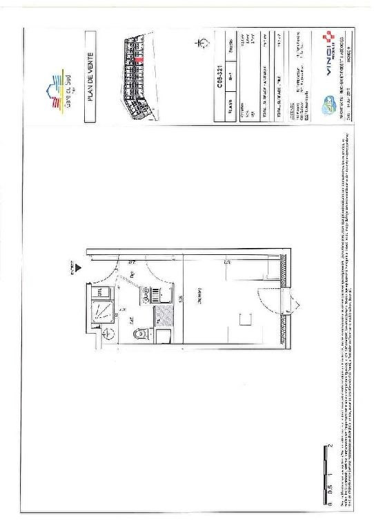 Investment property apartment Nice 137 143€ - Picture 5