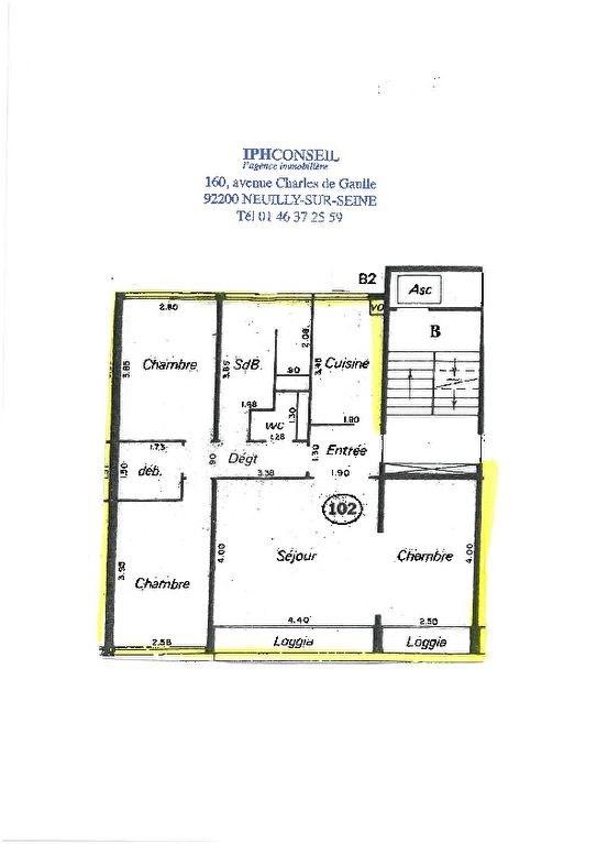 Sale apartment Paris 13ème 780000€ - Picture 13