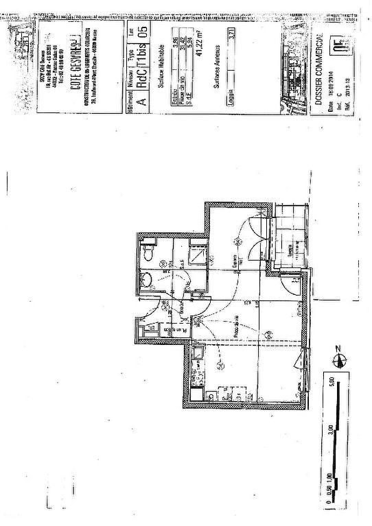 Rental apartment Nantes 542€ CC - Picture 2
