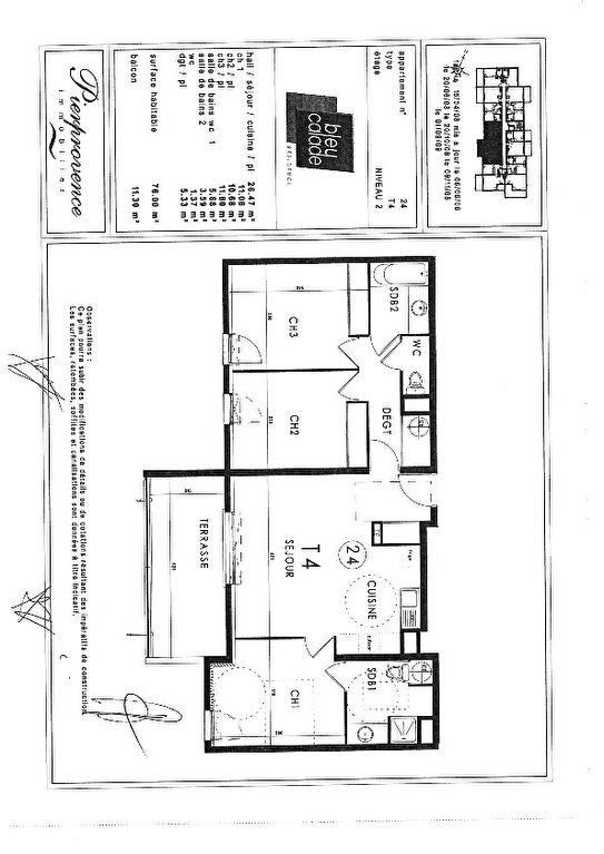 Vente appartement Marseille 210000€ - Photo 10
