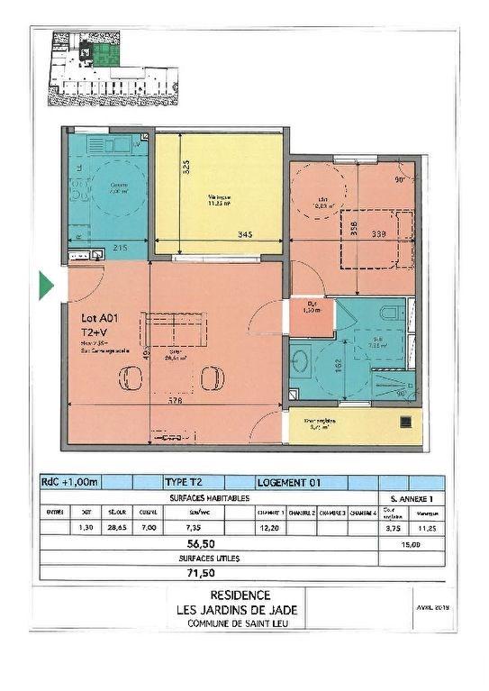 Investment property apartment Saint leu 304520€ - Picture 5