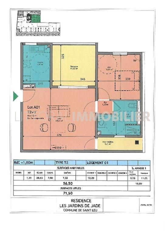 Investment property apartment Saint leu 304520€ - Picture 4