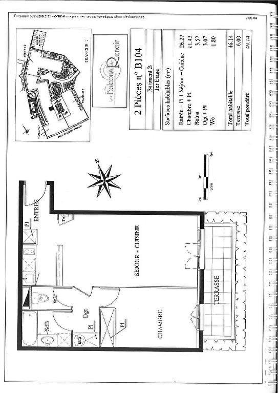 Rental apartment Limoges 456€ CC - Picture 4