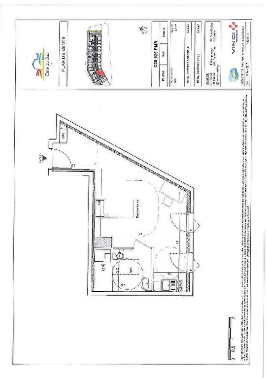 Investment property apartment Nice 199 200€ - Picture 5